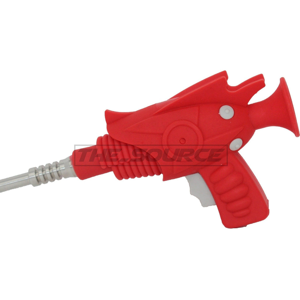 The Source of All Red Ray Gun Silicone Nectar Collector