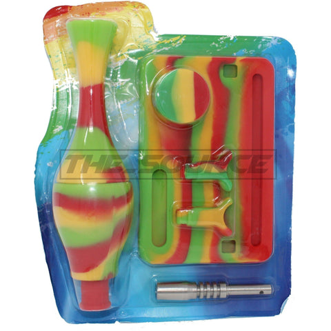 The Source of All Silicone Nectar Collector Kit