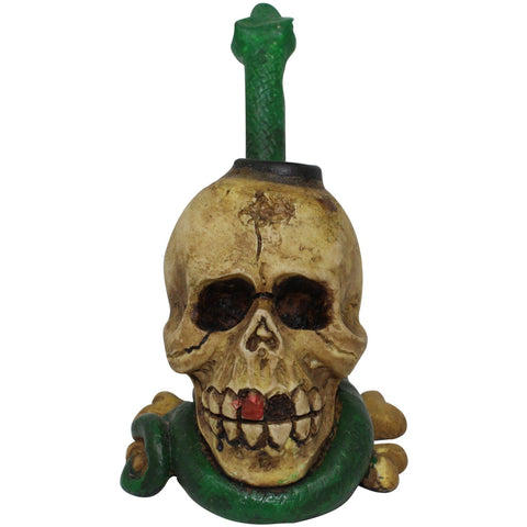 The Source of All Skull Resin Pipe