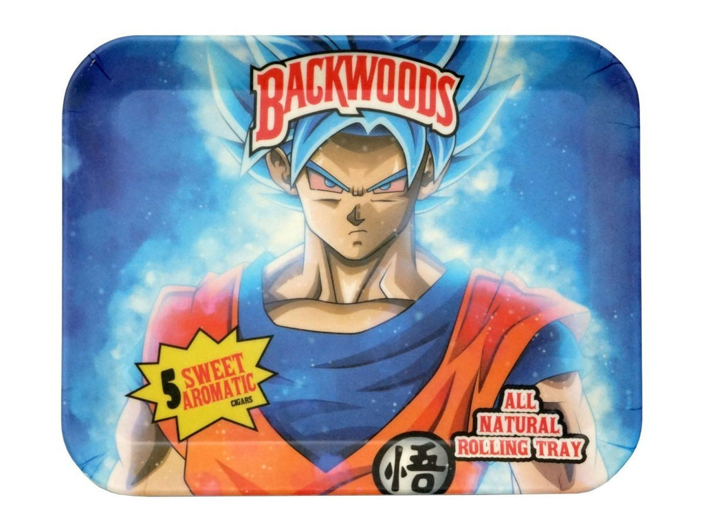 The Source of All Woodz Saiyan - Limited Edition Biodegradable Bamboo Fiber Rolling Tray