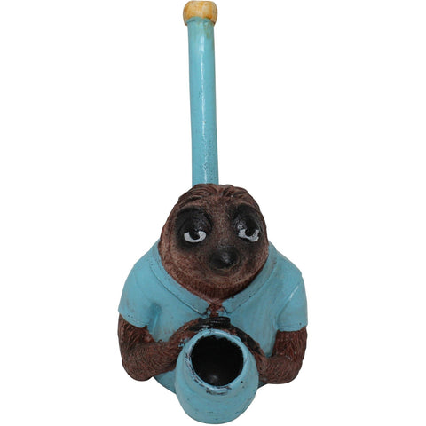 The Source of All Zoo Sloth Resin Pipe