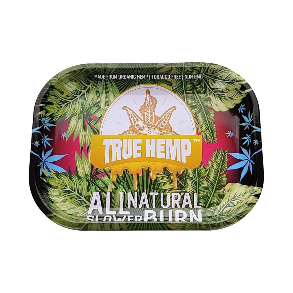 True Hemp Wraps Smoking Accessories True Hemp Rolling Tray