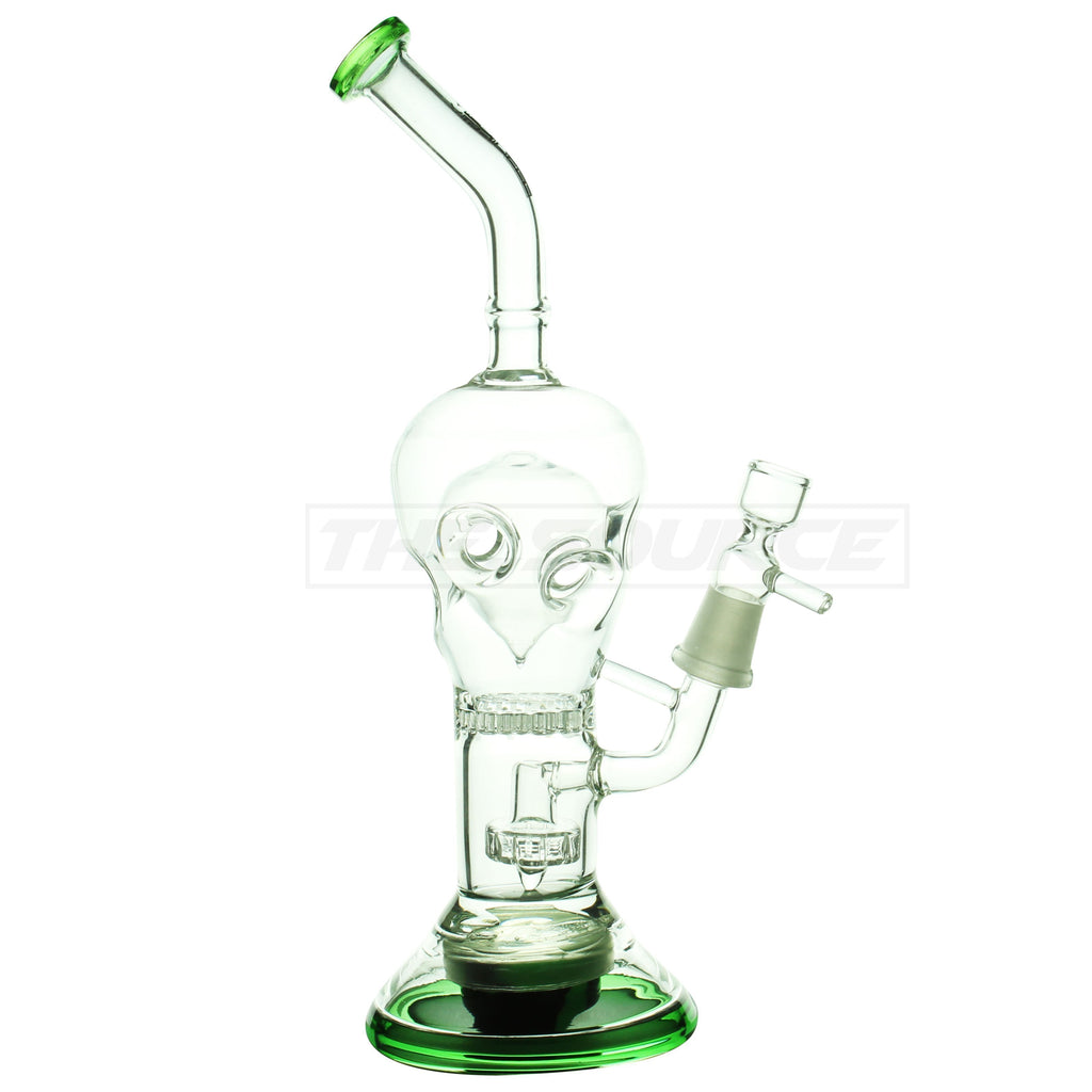 "9"" Viral Glass Showerhead Perc to Faberge Egg Perc - The Source of All"