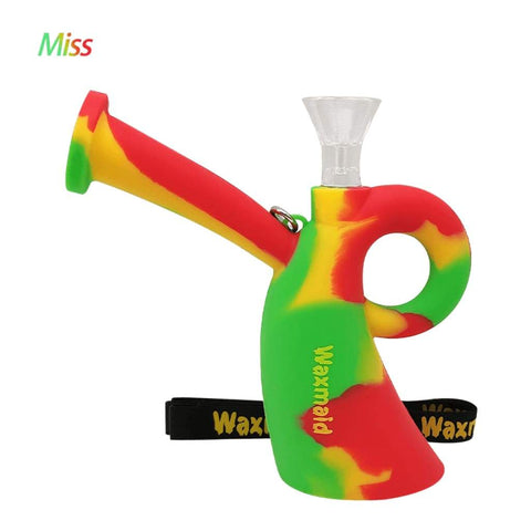 Waxmaid Water Pipes Rasta Miss Silicone Water Pipe