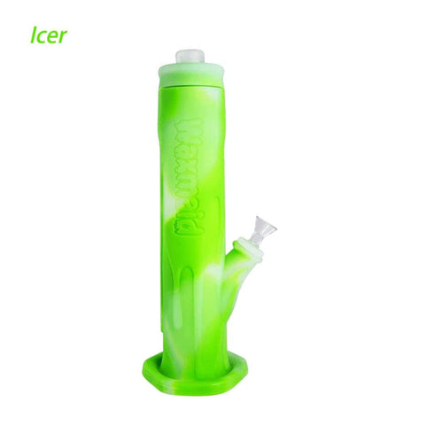 Waxmaid Water Pipes Translucent Green Freezable Icer Silicone Water Pipe