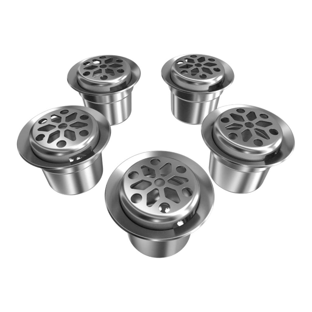 Weedgets Smoking Accessories Pipe Pods for Maze & Slider Pipes, 5 Pc