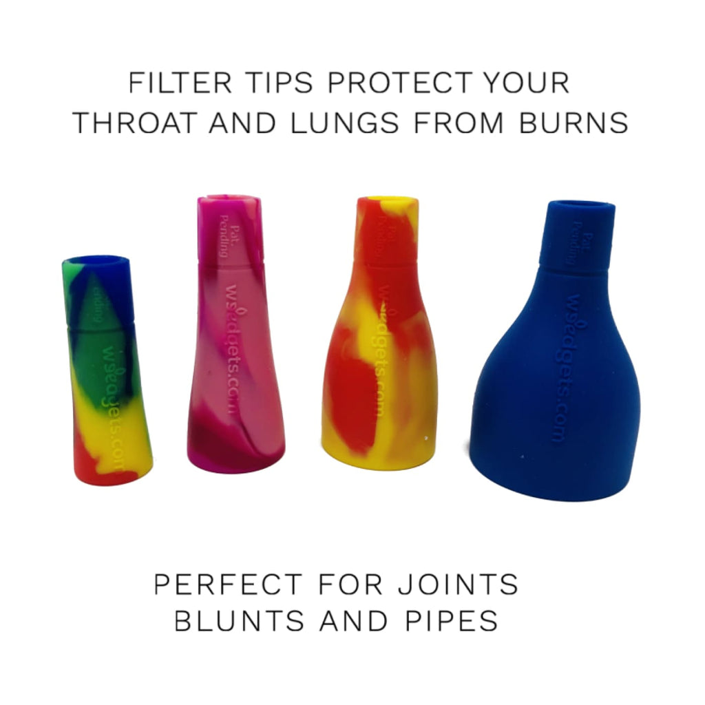 Weedgets Smoking Accessories Set of 2 Filter Tips – All Size Pack