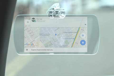 Hudly-head-up-display-Google-maps-notification