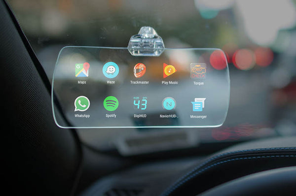 Hudly Head-Up Display Home Screen