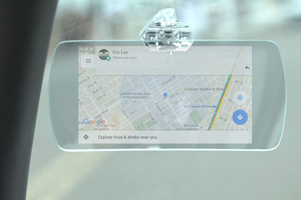 Hudly Head-Up Display Notification Pop-Up