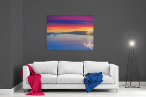 A Windermere Sunset - Ready To Hang Canvas