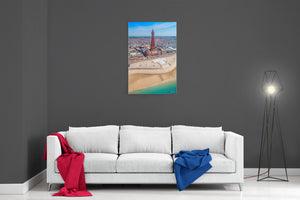 Blackpool Summer - Ready To Hang Canvas