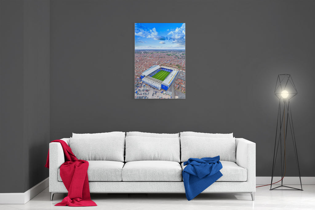 This Is Goodison Park - Ready To Hang Canvas