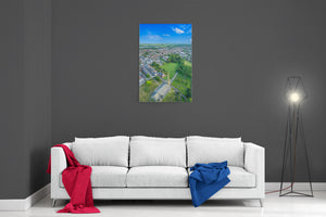 Kirkham Town In Summer - Ready To Hang Canvas