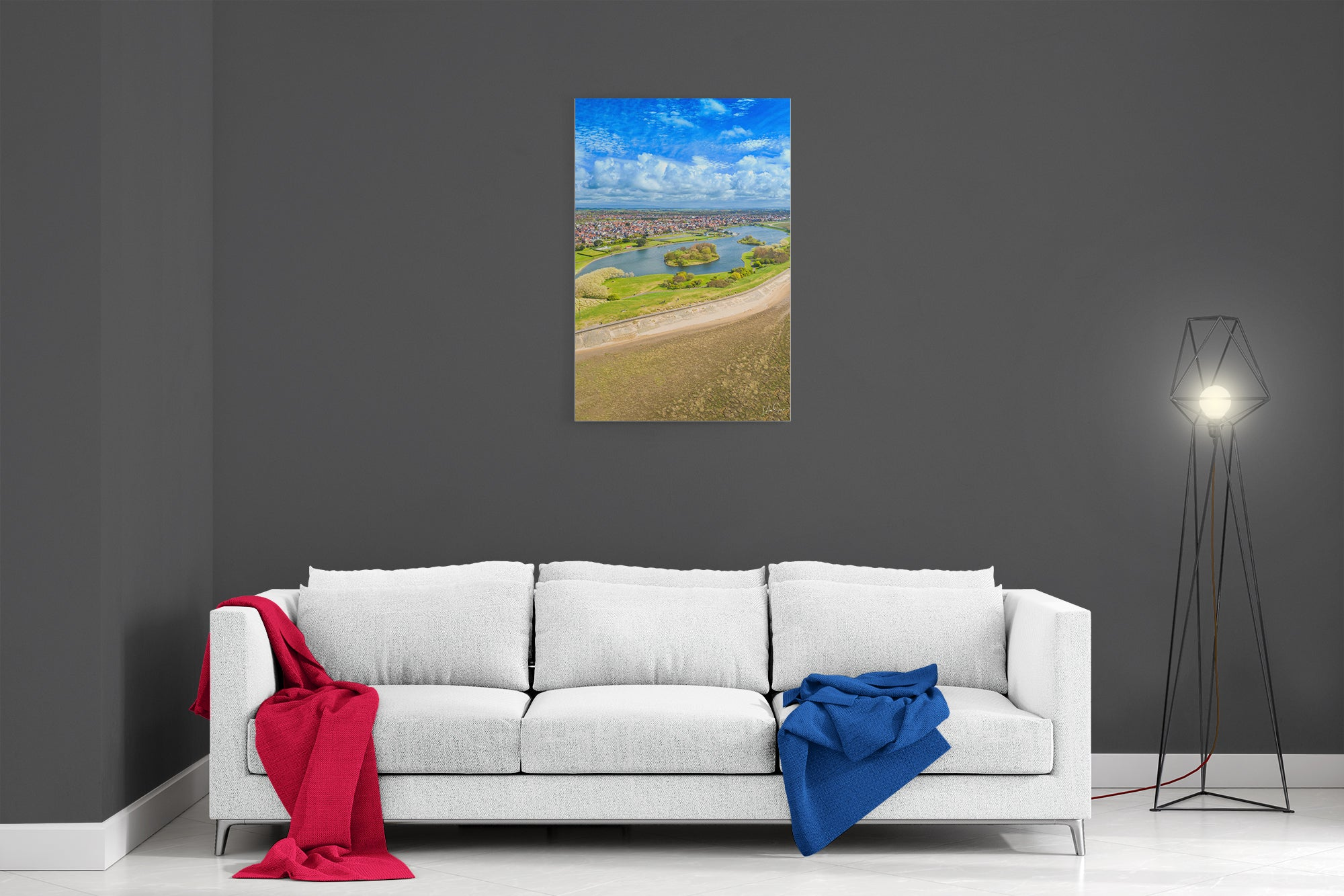 Fairhaven Lake Summer - Poster Print