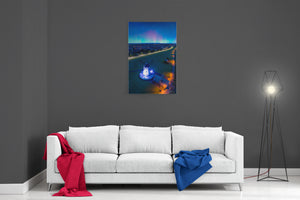 Lytham Aurora - Ready To Hang Canvas
