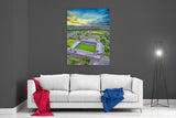 Turf Moor Sunset - Official Burnley FC Edition - Ready To Hang Canvas