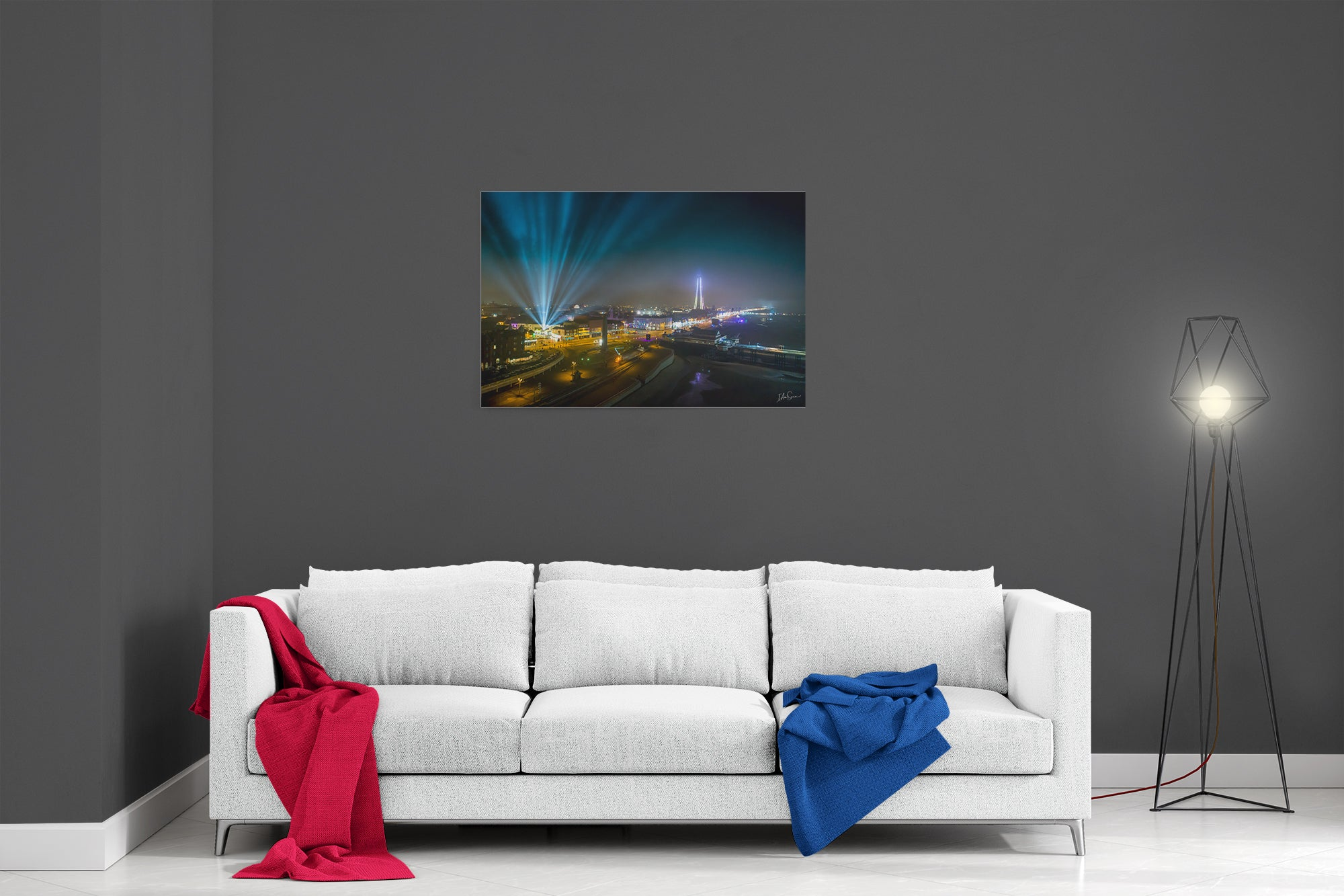 Light Up The Sky - Ready To Hang Canvas