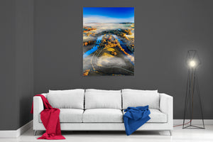 Crook O'Lune In Autumn- Ready To Hang Canvas