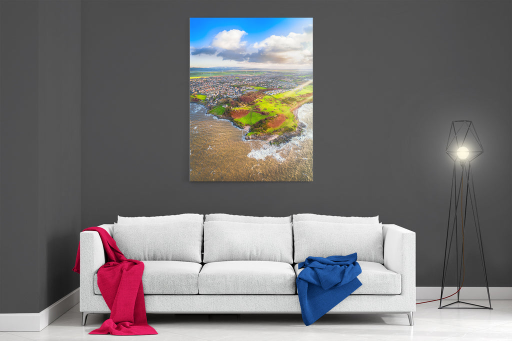 Heysham Shoreline - Ready To Hang Canvas