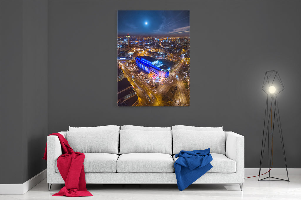 Liverpool At Christmas- Ready To Hang Canvas