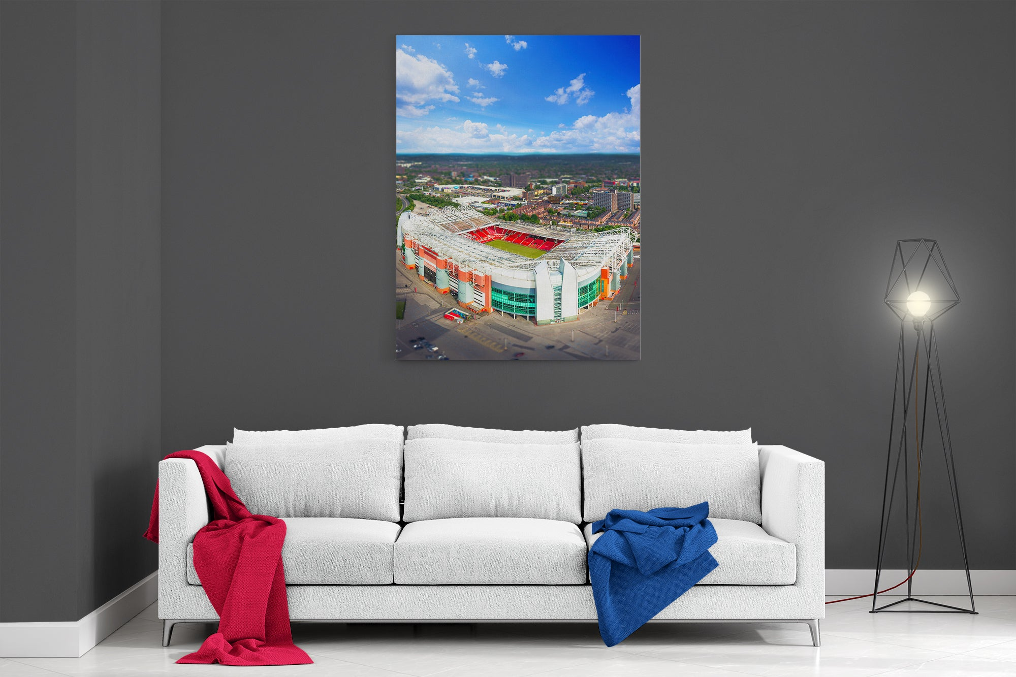 This Is Old Trafford - Poster Print
