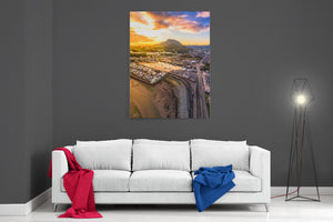 Porthmadog Sunset - Ready To Hang Canvas