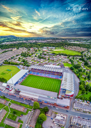Turf Moor Sunset - Official Burnley FC Edition - Poster Print