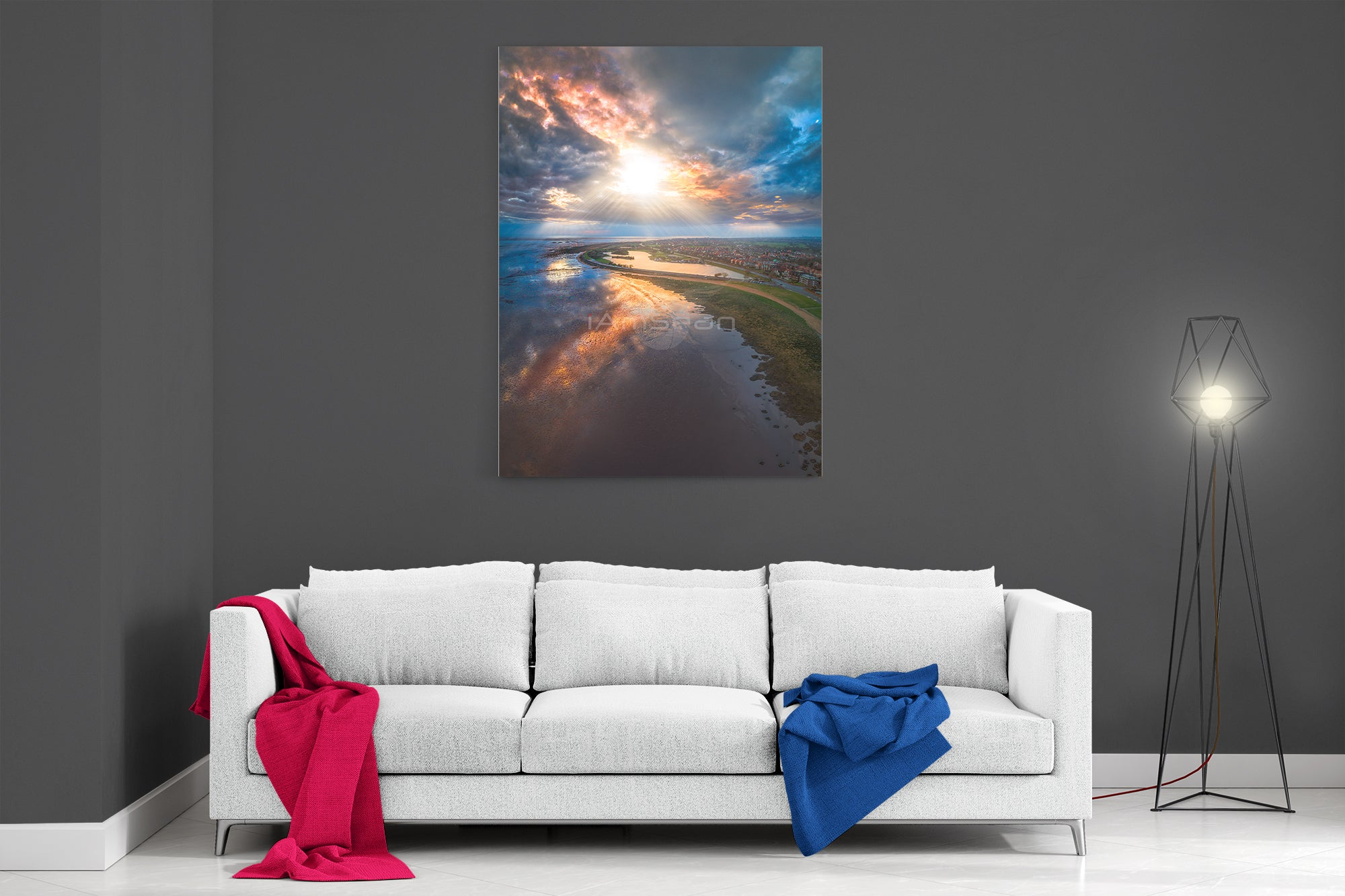 Rays Of Hope - Ready To Hang Canvas