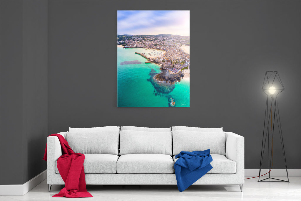 Summer In St Ives - Ready To Hang Canvas