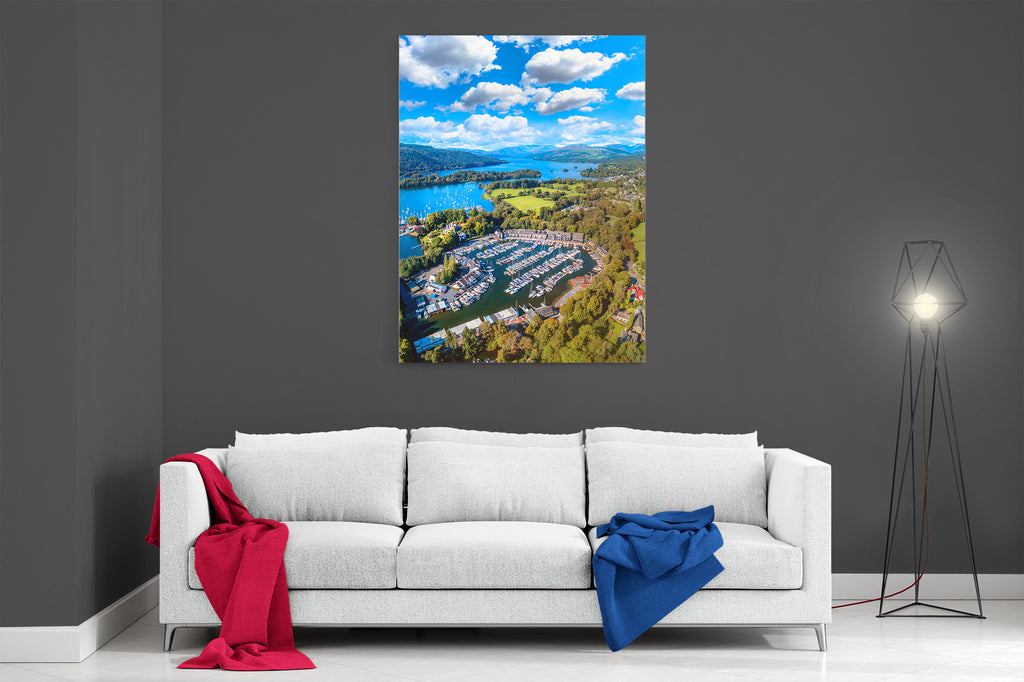 Windermere Marina Village- Ready To Hang Canvas