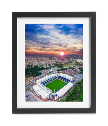 This Is Ewood Park - A3 Framed Print - Black