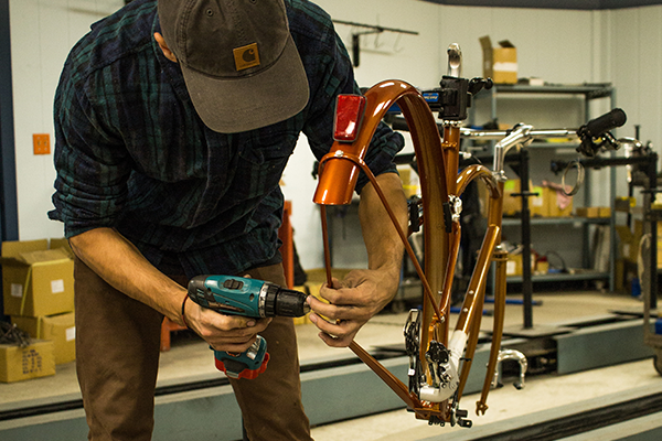 Bikes Inspired By Detroit Manufacturing