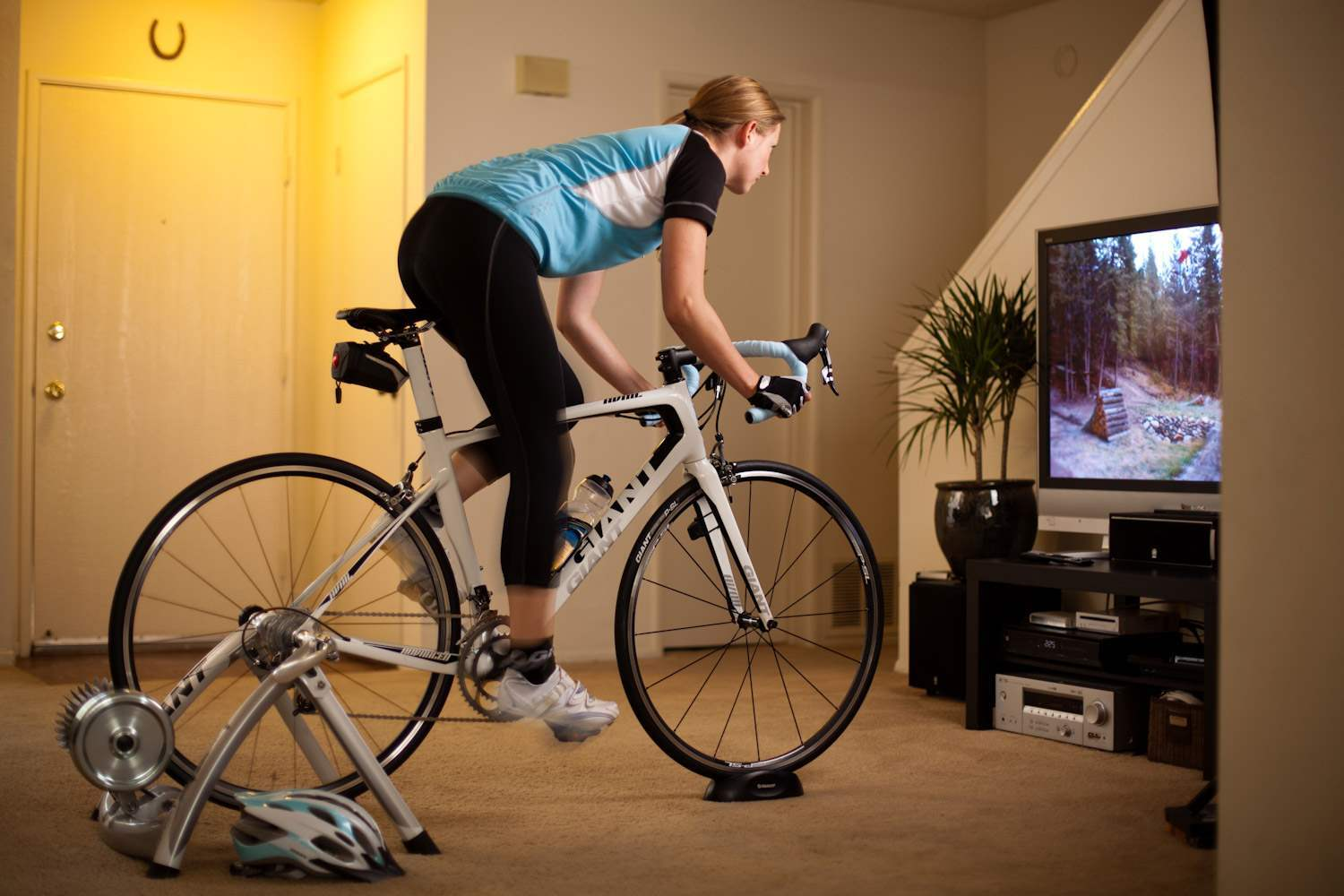 Four Indoor Bike Trainers to Use During Quarantine