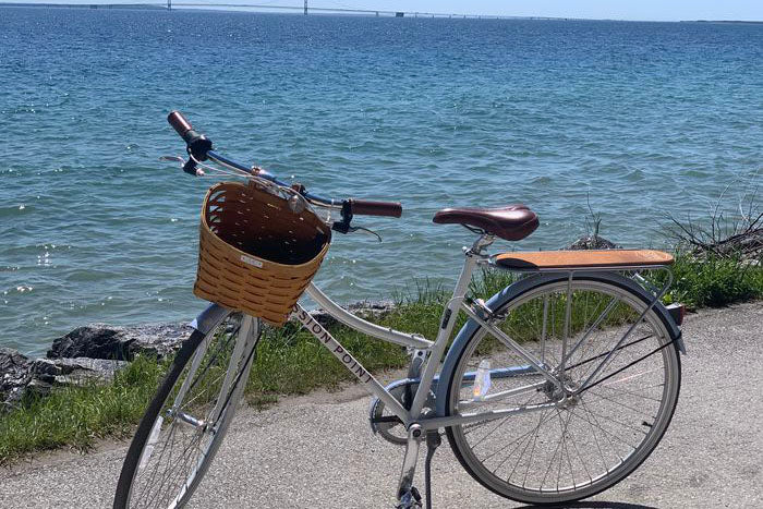 Mlive: Mission Point Resort rolls out custom-built, branded bikes on Mackinac Island