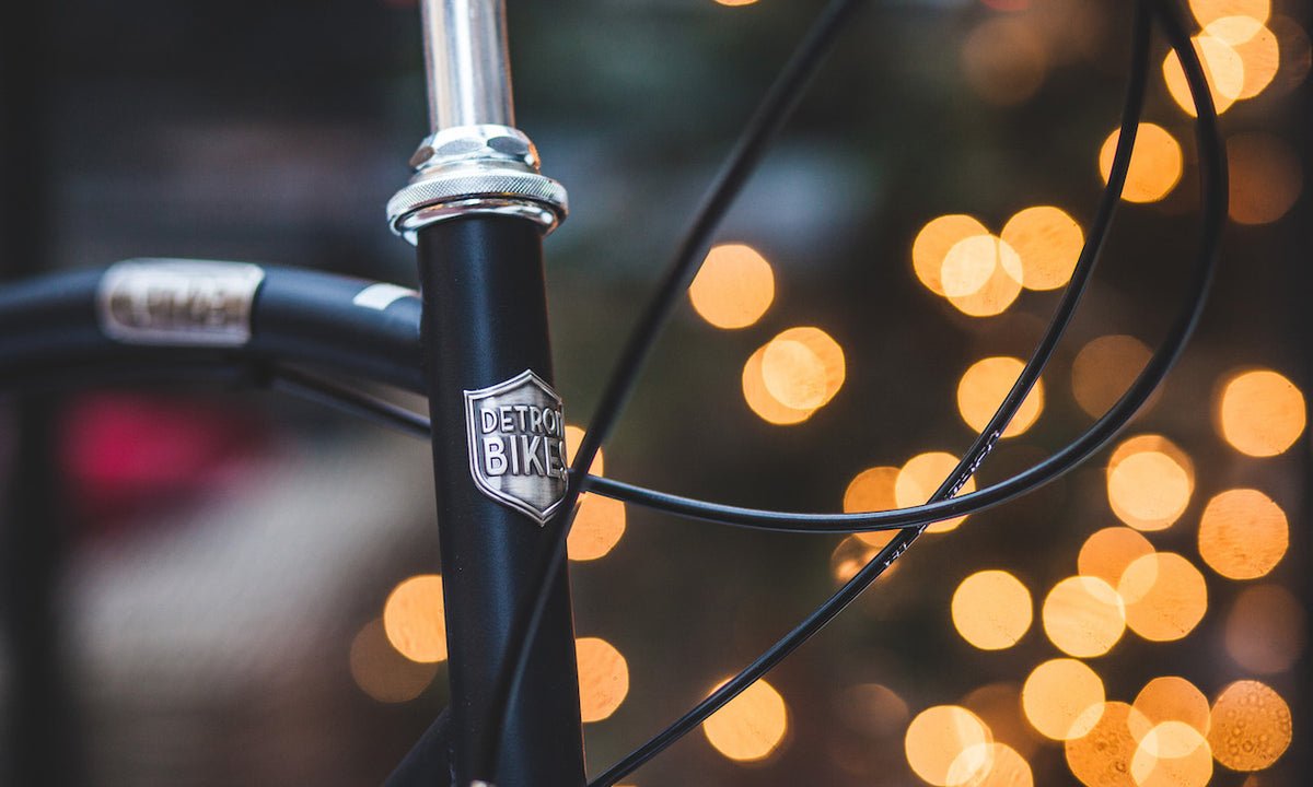 Holiday Light Bicycle
