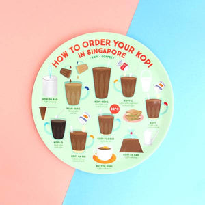 Makan Plate | How to order your Kopi