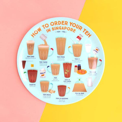 Makan Plate | How to order your Teh