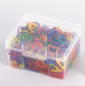 Rainbow Links Activity Set