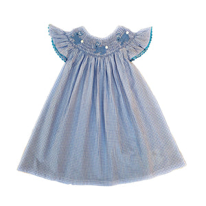 Dainty Bunny Dress Blue