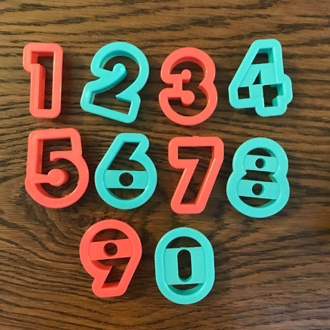 Accessories | Numbers cutter