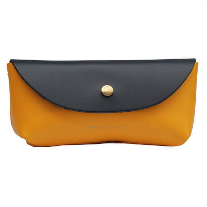Bailey Case | Navy Blue & Sun Yellow