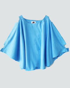 Batwing Top | Blue