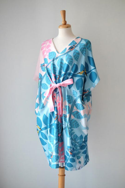 Kimono Dress | Native Birds