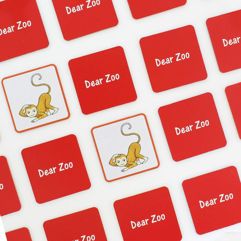 Dear Zoo Matching Pairs Game