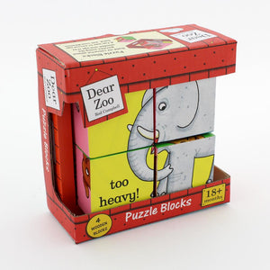 Dear Zoo Puzzle Blocks