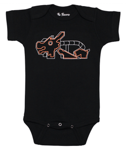 Dragon Onesie | Black
