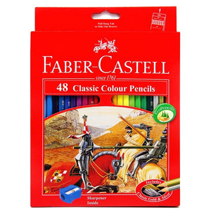Faber Castell Colour Pencils | Box of 24