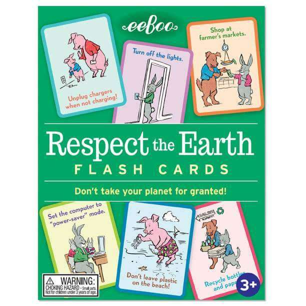 Flash Cards | Respect The Earth