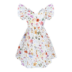 Fairy Sleeves Dress l English Garden
